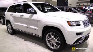 jeep grand cherokee brown 2015 jeep grand cherokee summit exterior and interior walkaround