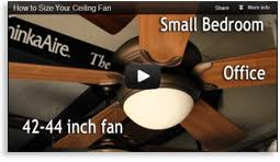 Ceiling Fan Size Bedroom by How To Size Your Ceiling Fan