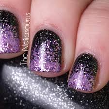 easy nail designs glittery nails purple nail designs and purple