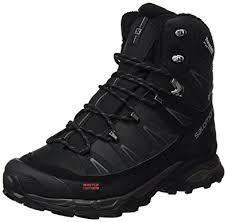 s winter hiking boots size 12 amazon com salomon s x ultra winter cs wp performance boot