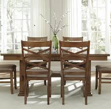 Espresso Bistro Table Liberty Furniture Bistro Rectangular Trestle Dining Table