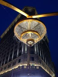 Square Chandelier Playhouse Square S Chandelier Succeeds As An Instant Icon For