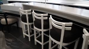 Corian Dining Tables Stunning Designer Kitchen Corian Surfaces Dining Table Bar Area