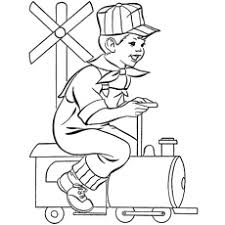 26 free printable train coloring pages