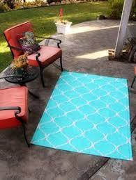Make Your Own Outdoor Rug Make Your Own Rug Easy Drop Cloth Project Fabric Painting