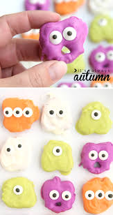 Halloween Monsters For Kids by Halloween Pretzel Monsters Ghosts It U0027s Always Autumn