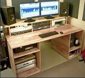 Studio Desk Diy Woodworking Recording Desk Plans Pdf Recording Desk Plans
