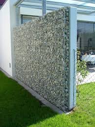 modern house design gabions google search fence pinterest