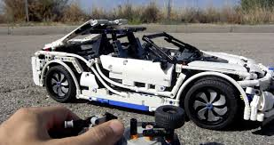 bmw i8 this guy u0027s made a bmw i8 out of lego superunleaded com