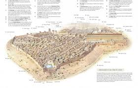 Map Of Israel In Jesus Time Virtual Model Of The Temple Mount In The Time Of Jesus