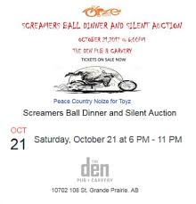 noize for toyz screamers ball dinner and silent auction oct 21 2017