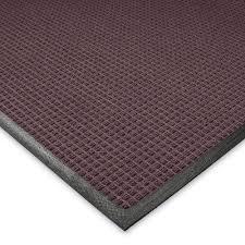 Outdoor Rubber Rugs Flooring U0026 Rug Burgundy Waterhog Drainable Mats With Black Rubber