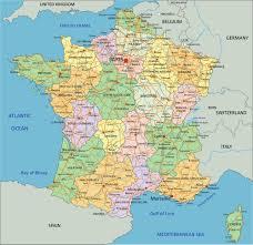 Lyon France Map Map France