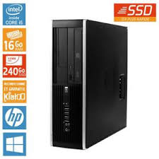 pc bureau reconditionné pc bureau hp elite 8100 intel i5 16 go ram 240 go disque dur