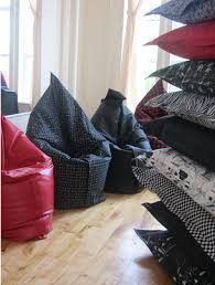 ideas for a fun and comfortable home decor with bean bags