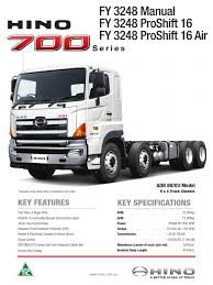 hino 7000 suspension vehicle manual transmission