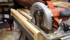use circular saw as table saw build a circular saw crosscut jig for straight accurate cuts