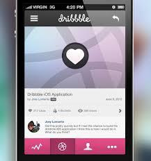 design application ios of beautiful iphone app ui concept designs