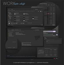 black themes windows 8 work nite shift vs for windows 8 1 themes free windows 8 visual