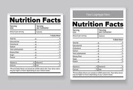 ingredients labels template templates franklinfire co