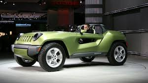 new jeep renegade concept jeep renegade concept crashes the detroit party