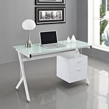 Executive Desk With Computer Storage Office Desk White Desk With Storage Glass Office Desk Office