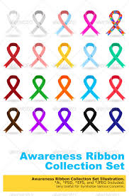 diabetes ribbon color awareness ribbons by branca escova graphicriver