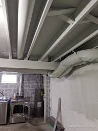 what is the best way to paint unfinished kitchen cabinets how to paint an unfinished basement ceiling semigloss design