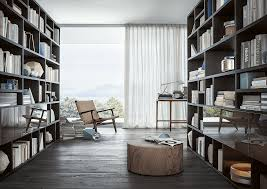 custom bookcases by lema a real plus to your living room