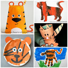 50 zoo animal crafts kids heart crafty