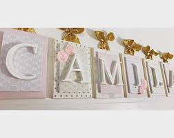 Decorative Wall Letters Nursery Nursery Letters Personalized Lettershanging Wall