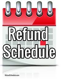 Estimate Tax Refund 2014 by 2017 Refund Schedule 2017 Irs E File Payment Cycle Chart