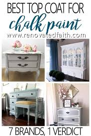 should i put a top coat on painted cabinets the best clear coat for furniture 2021 best chalk paint