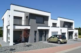 doppelhaus architektur wohnhaus in der moderne architektur im bauhausstil mit