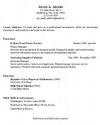 resume exles simple simple resume exles easy resume sles 16 a simple resume within