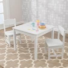 Youth Table And Chairs White Kids U0027 Table U0026 Chair Sets You U0027ll Love Wayfair