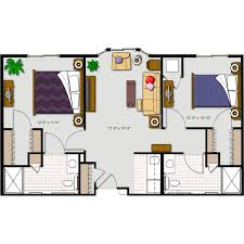 Assisted Living Facility Floor Plans by Floor Plans