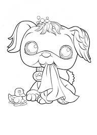 cute printable coloring pages littlest pet shop 05621