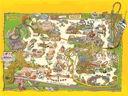 Griffith Park Map Park Map Knott U0027s Berry Farm Buena Park Ca Buy Tickets