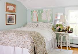 Shabby Chic Dog Beds by Sea Foam Green Bedroom Shabby Chic Style With White Side Table