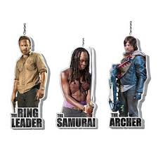 the walking dead flat back resin ornament set coming in october