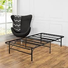 Basic Metal Bed Frame Twin Xl Bed Frames Bedroom Furniture The Home Depot