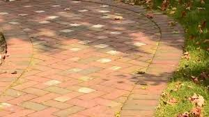 Quikrete Paver Base by Brick Paver Patio In Herringbone Pattern Youtube