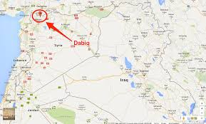 Syria On A Map by Isis Avoids Apocalyptic Prophesy About Antichrist Business Insider