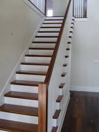 best hardwood stair treads door stair design