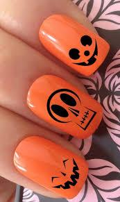 Halloween Nail Art Pumpkin - 33 best halloween nails images on pinterest pedicure nail art