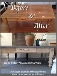 White Painted Coffee Table by Meubels Opknappen Before And After Pinterest Paint Coffee