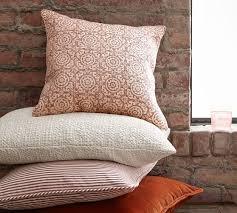 medallion print pillow cover pottery barn