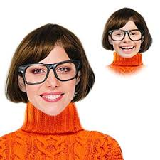 velma costume velma costume velma wig and glasses velma