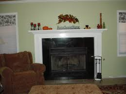 rustic recycled natural fall fireplace mantel ideas chippy wood in